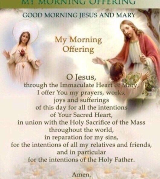 morning offering