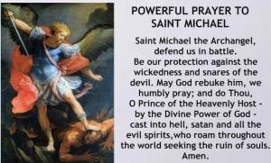 Prayer to St. Michael