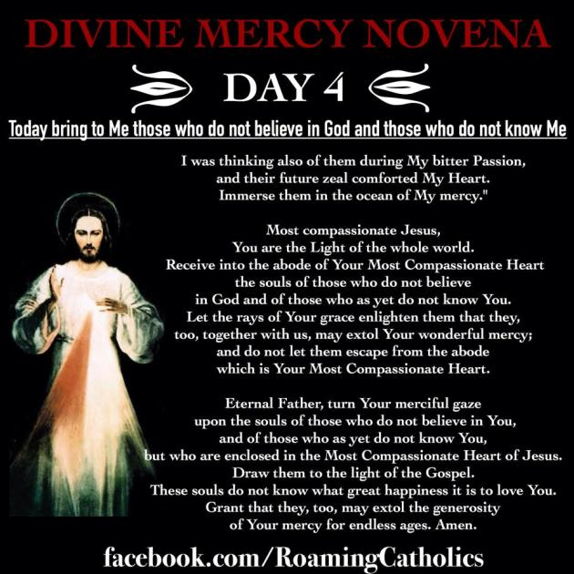 Divine Mercy Novena 4