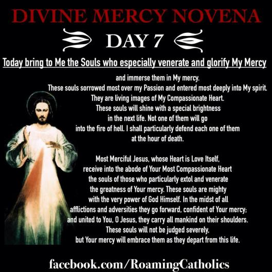 Divine Mercy Novena Day 7