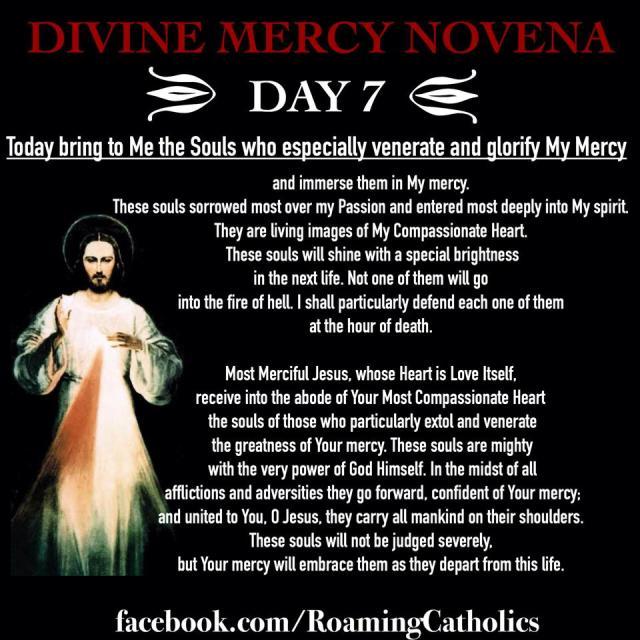 Divine Mercy Novena Day 7