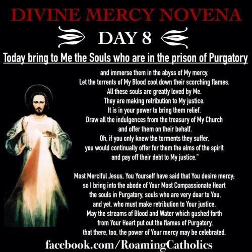 Divine Mercy Novena Day 8