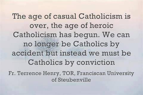 heroic catholicism