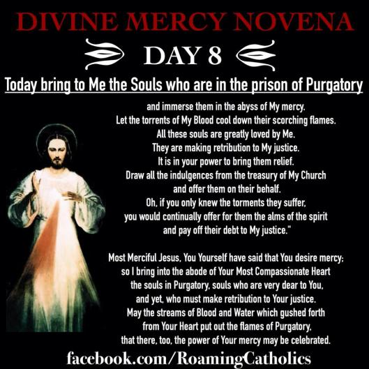 Divine Mercy Novena Day 8