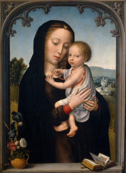 Jesus, Mary and Rosary